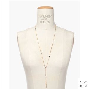 NWT Madewell Beaded Lariat Necklace